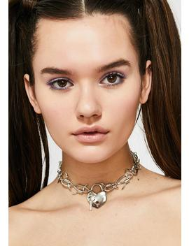 Love On Lock Choker by Ciel