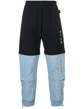 Bicolour Track Trousers by Gcds