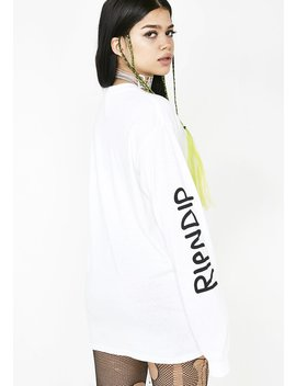 Nermamaniac Long Sleeve Top by Ripndip