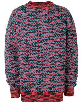 Patterned Knit Jumper by Calvin Klein 205 W39nyc