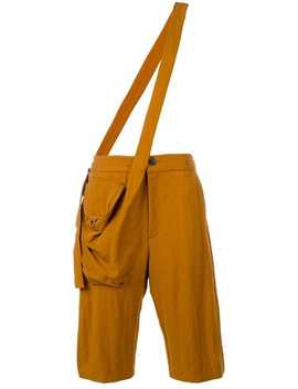 Cross Body Strap Trousers by Chalayan