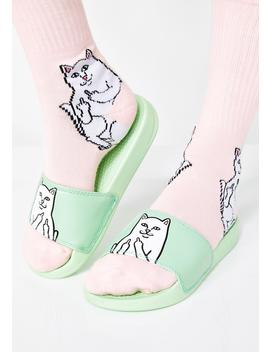 Mint Lord Nermal Slides by Ripndip