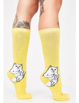 Bodak Lord Nermal Socks by Ripndip