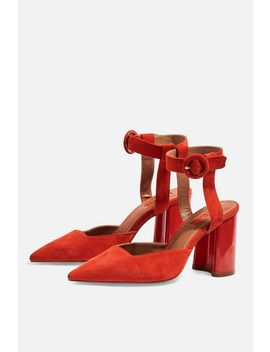 Graceful Ankle Strap Heels by Topshop