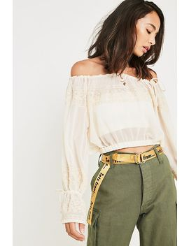 """Urban Outfitters– Bluse """"Jade"""" Mit Stickereien by Urban Outfitters Shoppen"""