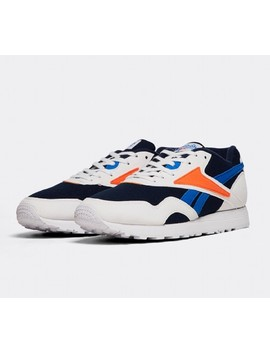 Rapide Trainer   White/Navy/Blue/Lava by Reebok