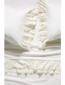 Ruffled Elba Sheet Set by Anthropologie