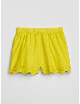 Eyelet Pull On Shorts by Gap