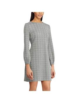 Women's Chaps Houndstooth Sheath Dress by Kohl's