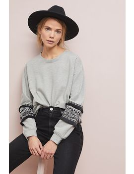 Fringed Sweatshirt by Design History