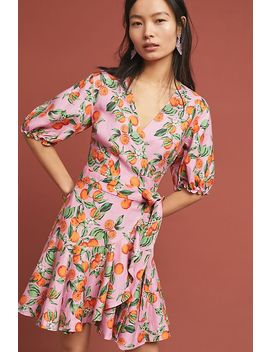 Aranciata Wrap Dress by Finders Keepers