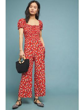 Faithfull Della Smocked Jumpsuit by Faithfull