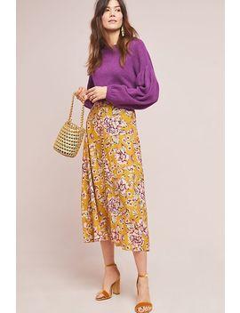 Thea Floral Skirt by Kachel
