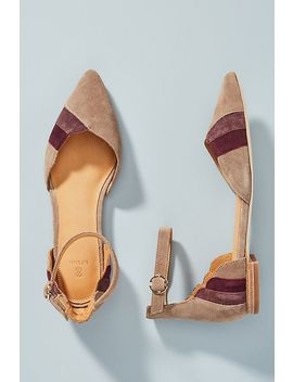 Bill Blass Sandra Colorblocked City Flats by Bill Blass