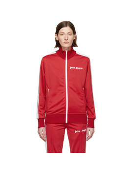 Red Classic Track Jacket by Palm Angels