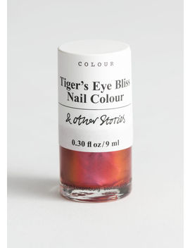 Tiger's Eye Bliss Nail Polish by & Other Stories