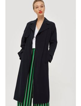 Silky Crepe Duster Coat by Topshop