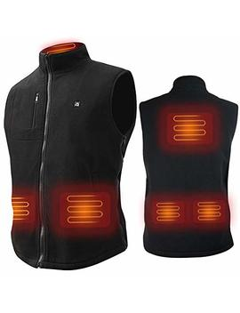 Arris Heated Vest Size Adjustable 7.4 V Battery Electric Warm Vest For Hiking Camping by Arris
