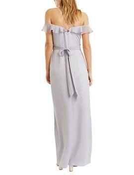 Ruffle Satin Maxi Dress by Oasis