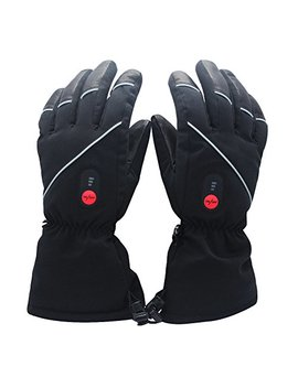 Savior Heated Gloves With Rechargeable Li Ion Battery Heated For Men And Women, Warm Gloves For Cycling Motorcycle Hiking Skiing Mountaineering, Works Up To 2.5 6 Hours by Savior
