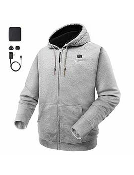 Ororo Heated Hoodie With Battery Pack (Unisex) by Ororo
