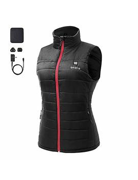 Ororo Women's Lightweight Heated Vest With Battery Pack by Ororo