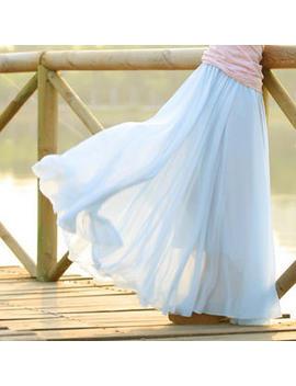Jvl   Pleated Maxi Skirt by Jvl