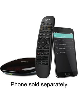 Harmony Companion (Remote Control And Smart Hub)   Black by Logitech