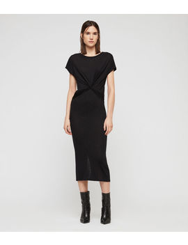 Paloma Drape Dress by Allsaints