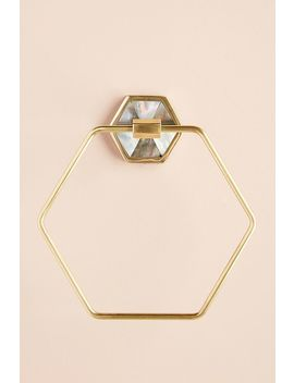 Almeta Towel Ring by Anthropologie