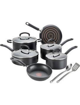 T Fal 12pc Titanium Cookware Set by T Fal