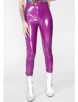 Sugar Fantasy Vinyl Pants by Fashion Queen Mania