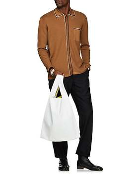 Leather Shopper Tote Bag by Maison Margiela