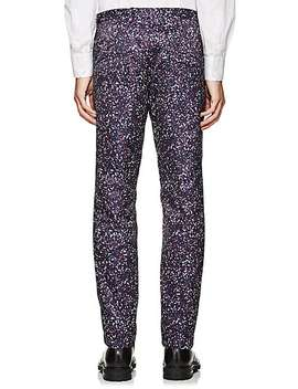 Abstract Print Flat Front Trousers by Jil Sander