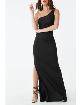 one-shoulder-slit-gown by forever-21