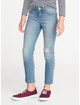 The Power Jean A.K.A. The Perfect Straight Ankle For Girls by Old Navy
