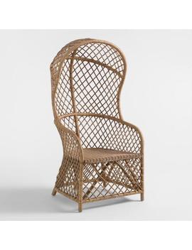 Natural Rattan Safiya Egg Chair by World Market