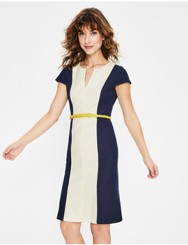 Freida Textured Dress by Boden