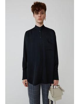 Pyjama Top Black by Acne Studios