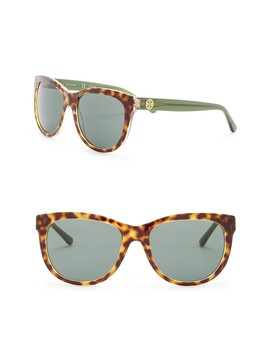 55mm Square Sunglasses by Tory Burch