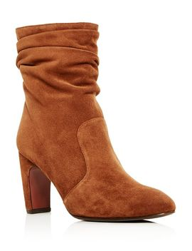 Women's Jazz Suede Slouch High Heel Boots by Chie Mihara
