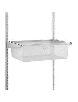 Platinum Elfa Classic 2' Mesh Hanging Drawers & Frame by Container Store