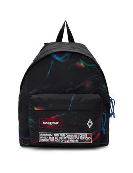 Black Eastpak Edition Glitch Padded Pak'r Backpack by Marcelo Burlon County Of Milan