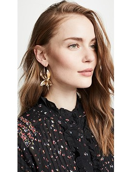 Orchid Single Earring by Zimmermann