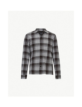 Danby Checked Cotton Shirt by Allsaints