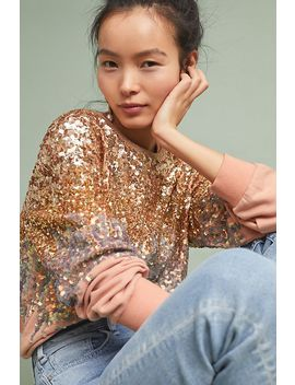 Sequin Pullover by Ugly Girl