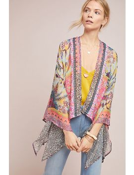 Belinda Floral Kimono by Elizabeth Gillett