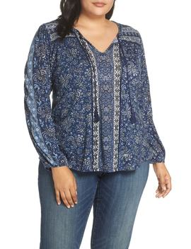Print Tunic by Lucky Brand