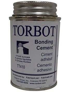 Skin Bonding Cement With Brush 4 Oz. Can Part No. Tt410 (1/Ea) by Torbot Group Inc.