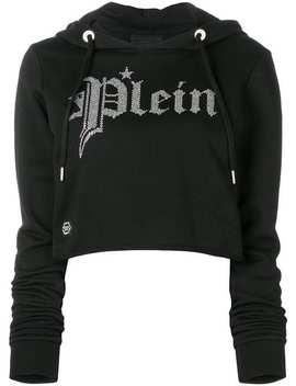 Gothic Hooded Sweatshirt by Philipp Plein